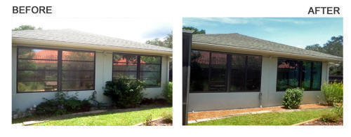 Before & After Window Installation
