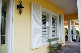 Colonial Style Shutter Installation Hernando Pasco County