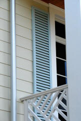 Colonial Style Shutters Installation Hernando Pasco County