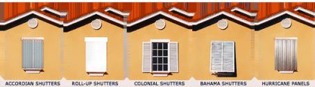 Hurricane Shutters & Storm Panel Installation