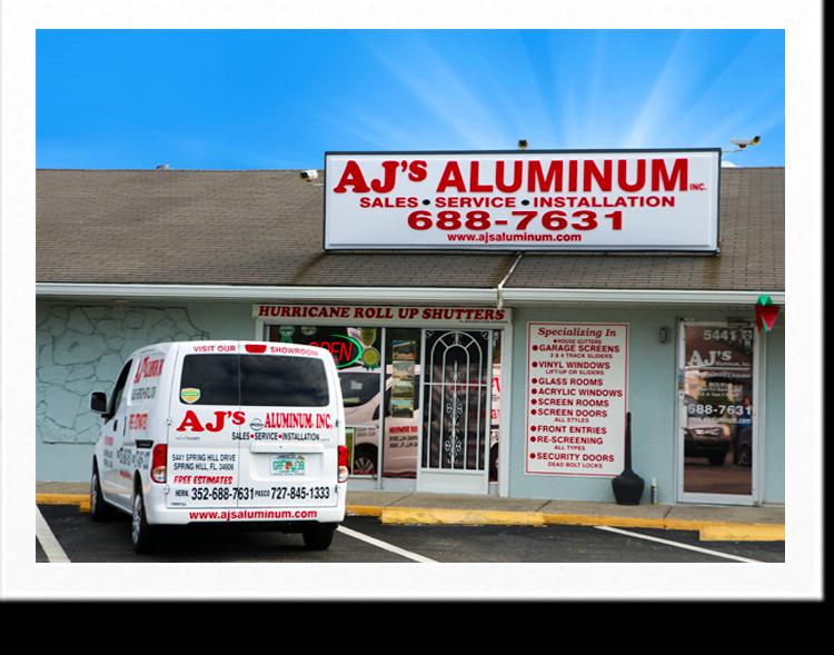 Aluminum Contractor Springhill Florida