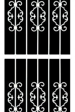 ALHAMBRA Screen Doors Traditional-Series-1