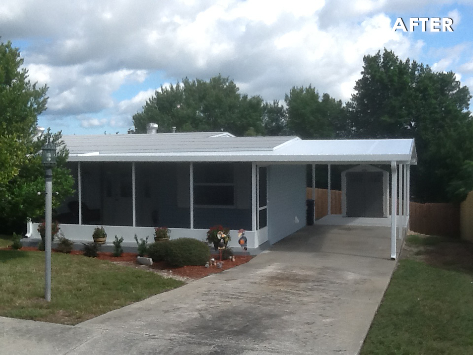 Carports Covers Before Amp After Gallery Specialized