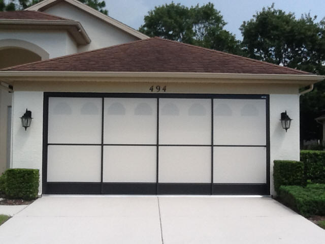 Garage screen door track outstanding styrofoam garage for Garage screen door rollers