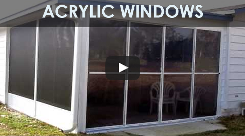 Acrylic glass windows specialized aluminum products for Acrylic windows