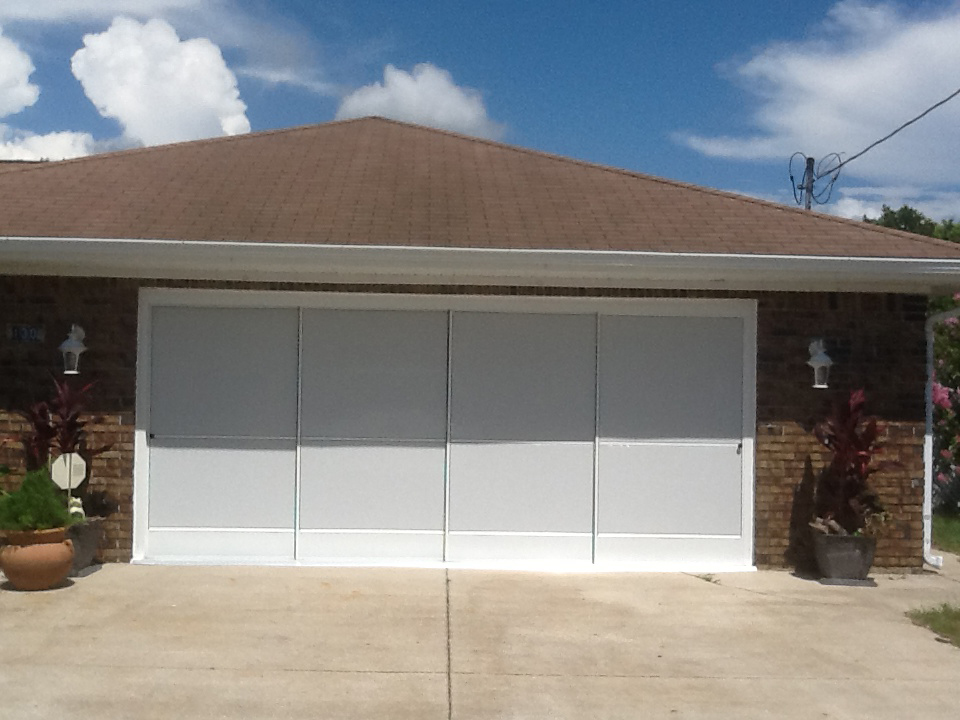 Garage Screen Enclosures With Sliders : Garage slider photo gallery specialized aluminum
