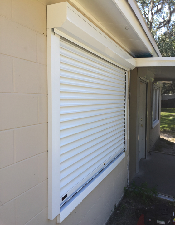 Roll down hurricane shutters photo gallery specialized