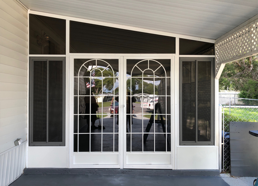 Front Entry Screen Doors Photo Gallery Specialized Aluminum