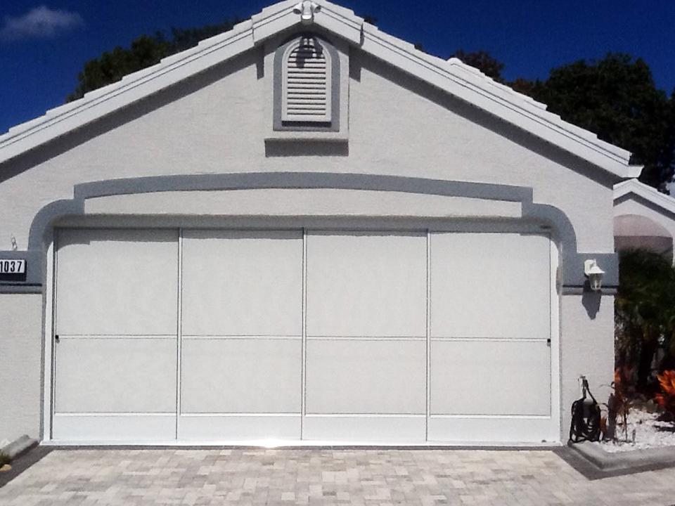 Garage Screen Sliders 1